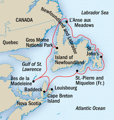 Canadian maritimes cruise